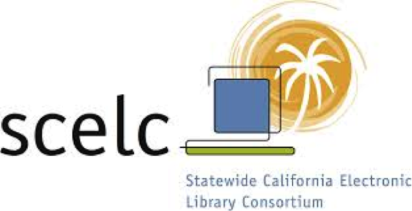 Statewide California Electronic Library Consortium (SCELC) logo